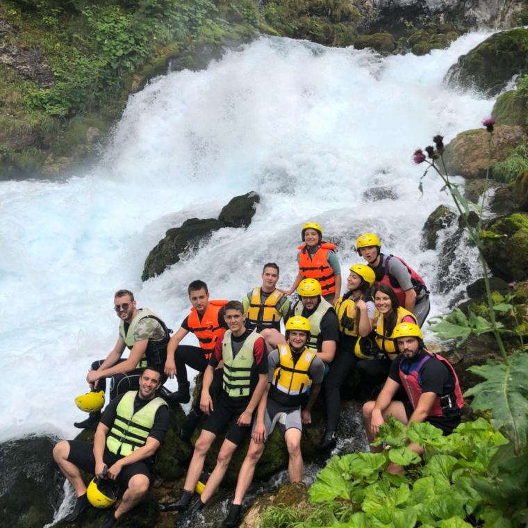 LKnet teambuilding rafting tara montenegro